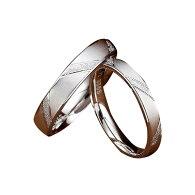 純銀925リングセットシルバー誕生日プレゼント男性/女性マリッジリング結婚指輪ペア記念日プレゼントシルバー