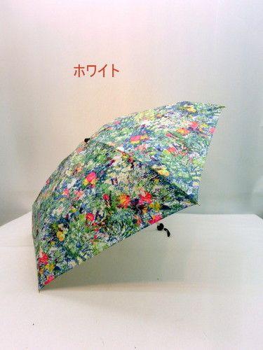 雨傘・折畳傘−婦人超軽量・超短・5段式・日本製・ラウメール柄・ミニ折傘