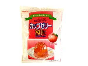 かんてんぱぱ カップゼリー80℃(ピーチ) 10P23Jul12