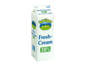 予約商品cream中沢乳業 フレッシュクリーム 38% 1L     10P04Jul15 【RCP】