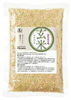 【1個はメール便対応可】【オーサワ】有機玄米(ササニシキ)国内産 300g