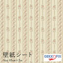 リメイクシート2m カントリー柄 おしゃれ 簡単 貼れる カッティングシール 花(メリーポピンズ) デコスタイル/GEKKO 45cm 11644ドイツ製壁紙シール