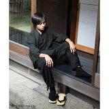 【作務衣(さむえ)】No.01「黒」