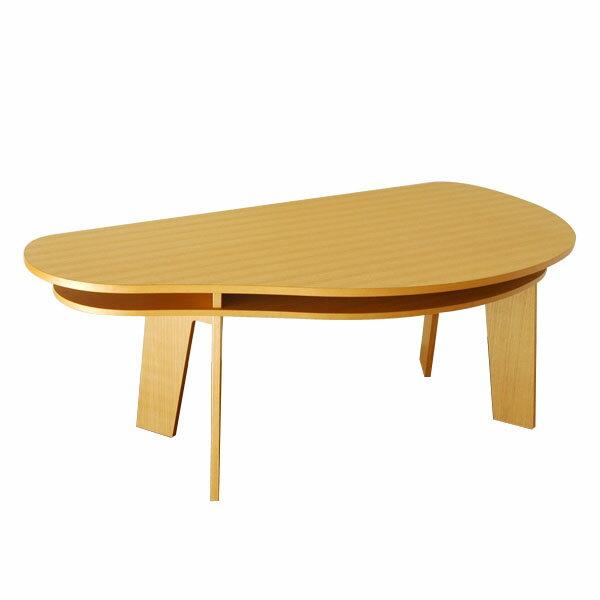 収納付き ダイニングテーブル 180 SHUNO(シュノ) タモ【北欧 変形 丸テーブル 日本製 国産】