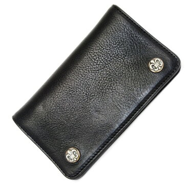 CHROME HEARTS(クロムハーツ)1 ZIP BK Heavy Leather /BS Fleur Buttons