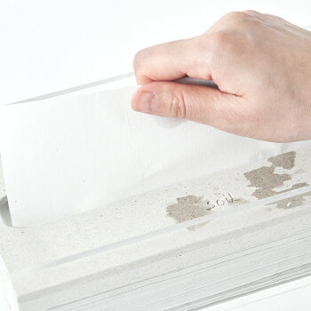 soil珪藻土GEMシリーズペーパータオルプレート