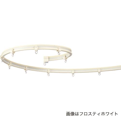 カーテンレール 曲がる カーブレール 手で曲げられる タチカワ ブラインド V6(2M)