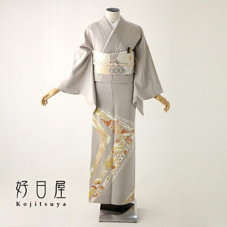 色留袖 レンタル フルセット 正絹 着物 結婚式 身長146-161cm 一つ紋 it-044