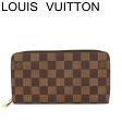 ルイヴィトン ヴィトン 長財布 財布 ジッピーウォレット ダミエ 新型 N41661 未使用【中古】