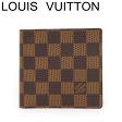 ルイヴィトン ヴィトン 財布 ポルトフォイユマルコ ダミエ 二つ折り 財布 N61675 未使用【中古】