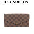 ルイヴィトン ヴィトン 長財布 財布 ポルトフォイユ・サラ ダミエ N63209【中古】