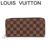 ルイヴィトン ヴィトン 長財布 財布 ジッピーウォレット ヴェルティカル ダミエ N61207 未使用【中古】