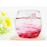 冷茶グラス 琉球ガラス おしゃれ 誕生日プレゼント【LOVE&STARタルグラス】