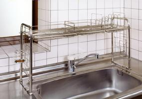 キチンとキッチン収納ラック KS-2712おっくうな食器洗いは手際よく済ませたい。洗...
