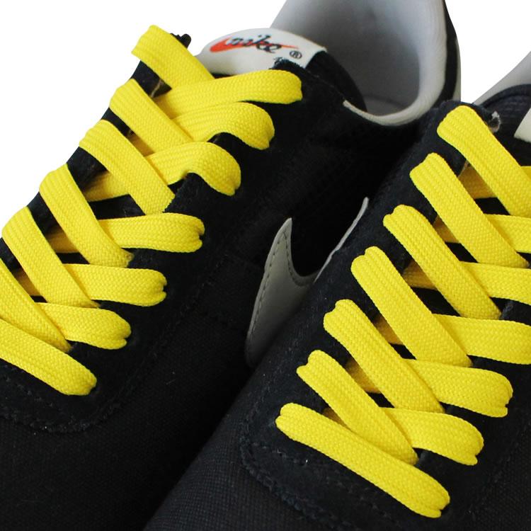 【プラスチックセル】スニーカー用靴ひも ポリエステル 平ひも(8mm幅)110cm・120cm・130cm・140cm【 靴紐 靴ひも くつひも 】