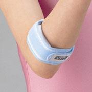 テニス肘の予防と、疼痛の緩和。☆テニス肘☆ゴルフ肘サポーターさわやかなブルーとピンクの2色...