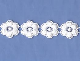 綿ケミカルレース(1.8cm巾)