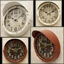 アンティーク クロック サブマリン(潜水艦)レトロ調 ビンテージ クロック 壁掛け時計 時計 アメ雑貨 アメリカ 西海岸風 インテリア アメリカン雑貨