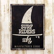 アメリカン ブリキ看板 SURF RIDERS/サーフライダーズ(AZ/16006)エンボス(凸凹)ティンサイン/メタルサイン 看板 西海岸 サーフ 雑貨 アメリカン雑貨 アメリカ雑貨 看板