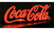 コカコーラ(Coca-Cola)ミニレタリングサインLEDネオンサインネオンランプネオン管/ネオン看板/看板USA