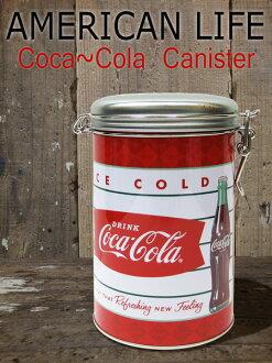把可口可樂鋼 (can) 罐 / 調味 / 咖啡密封 / 罐子/錫盒美國雜貨糖果咖啡小玩意