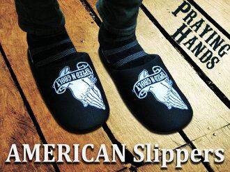 美國拖鞋 (玩手) 室內拖鞋、 室內鞋耐水洗廁所拖鞋! 美國美國小玩意小玩意拖鞋遊客入學典禮畢業典禮