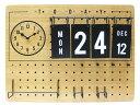 Lidgate [ リドゲート ] 壁掛け時計 カレンダー付き ペグボ...