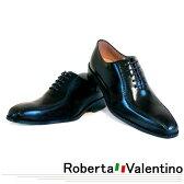 職人の技 夢のコラボレート企画 Roberta Valentino/ロベルタ・バレンティノ ハンドメイド ビジネスシューズ #291BK