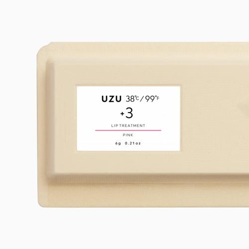 【UZUBYFLOWFUSHI公式】38°C/99°FLIPTREATMENT+3ピンク[送料無料]リップトリートメントリップケア美肌菌無香料