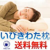 いびき枕いびきわた枕(通常サイズ)≪洗濯可能≫枕カバー43×63cmが最適まくら頚椎頸椎支持サポート首枕快眠