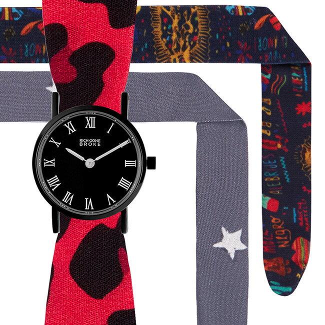 腕時計, レディース腕時計 SALE BLACK MARCEL BABY CASE SET RICH GONE BROKE SBMBCASE RGBS1813 BL107 RGBS1805