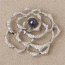 真珠ブローチ、パール