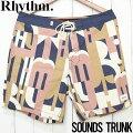 【送料無料】RhythmリズムSOUNDSTRUNKボードショーツ0121M-TR62