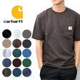 カーハート/carhartt Men's K87 WORK POCKET T-Shirt メンズ トップス Tシャツ T-Shirt 022 ポケット 半袖Tシャツ 【あす楽】メール便可