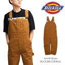 ディッキーズ/Dickies ダックオーバーオール DB10...