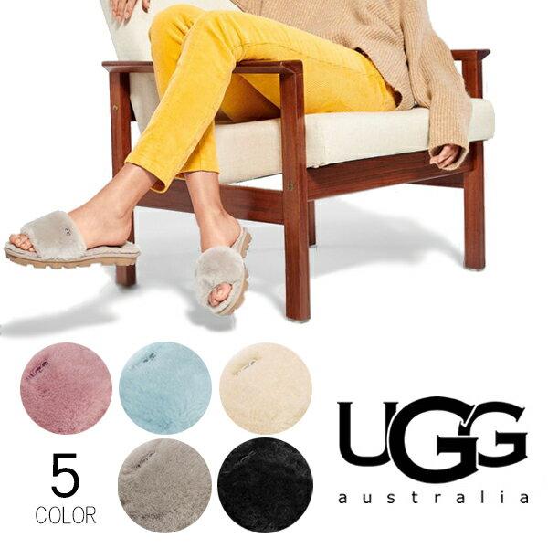 UGG/アグ/正規品 レディース COZETTE/コゼット シューズ サンダル カジュアル ふわふわ ファー もこもこ ルームシューズ オーストラリア シープスキン 1100892 /あす楽/