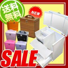 人気のメイクボックス 三面鏡付き コスメボックス メークボックス 化粧ボックス 姫系 卓上