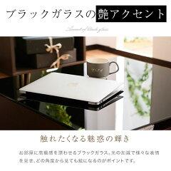 リビングテーブル引き出し収納センターテーブルローテーブルコーヒーテーブル木製テーブル突板ガラス天板75×75cmスクエア型