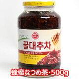 オットギ 蜂蜜 なつめ茶 瓶 500g 韓国 伝統茶 茶 蜂蜜入お茶 食品 食材 お土産 お中元 はちみつ ハチミツ