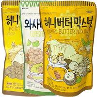 ハニーバターミックスナッツ220g1袋韓国大ヒット商品お菓子おつまみ韓国お菓子話題大人気カシューナッツ