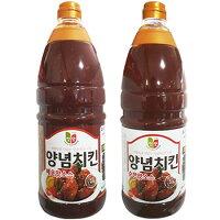 選べるヤンニョムチキンソース2.1kg業務用韓国食品食材料理色々アレンジできる万能ソース唐辛子の辛さにんにくの旨みトマトソース韓国チキン調味料甘辛ソース