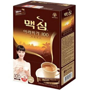 【送料無料】マキシム アラビカ コーヒー ミックス 100包 x 2箱 MAXIM ミックスコーヒー 韓国コーヒー インスタントコーヒー 韓国茶