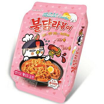 新商品 カルボ ラポッキ 1袋(2人前)韓国グルメ 韓国 食品 食材 料理 お土産 ラッポッキ ラッポキ ラポキ チョル麺 トッポキ トッポッキ プルダック ブルダッグ