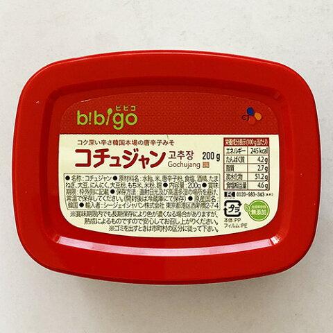 ビビゴ コチュジャン 200g 韓国 食品 食材 料理 調味料 トッポキ トポキ トッポッキ トッポギ bibigo