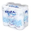 ロッテ ミルキス 缶 240ml 6缶入 韓国 飲み物 韓国 食品 食材 料理 さわやかなすっきり味