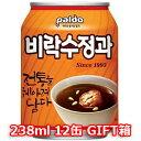 Paldo ビラク スジョンガ 水正果 236ml 缶 12本入 パルド 韓国 伝統茶 飲み物 お茶 食品