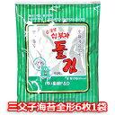 三父子 海苔 全形 6枚入 お弁当用 韓国 のり 味付海苔 ...