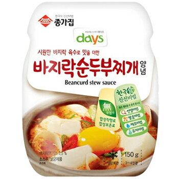 【メール便】宗家 スンドゥブチゲの素 300g 純豆腐 チゲ 鍋 の 素 食品 食材 料理 調味料 輸入 ソース