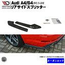 マクストンデザイン Audi TT RS 8J 専用 リアサイドスプリッ...