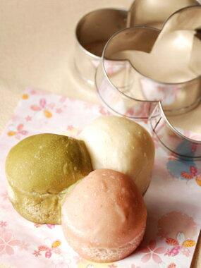 【majimayaオリジナル】【パン型】三色パン型【ブリキ】